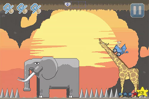 Gameplay giraffe